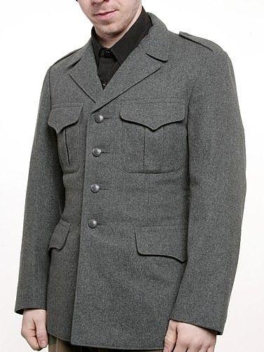 1f46bb68a0e Swiss Wool Tunic - Vintage WW2 ($26.21)   Fashion   Jackets, Tunic ...