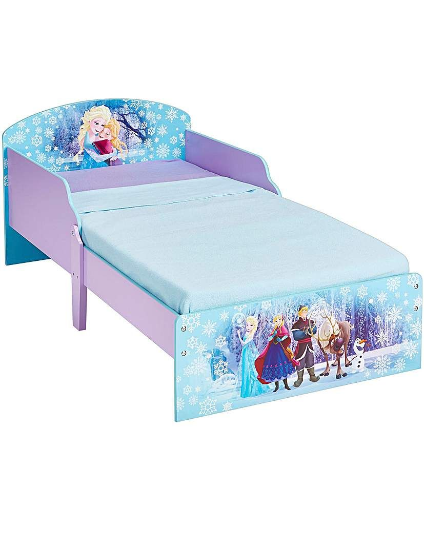 Frozen Toddler Bed Toddler bed frame, Kid beds, Toddler