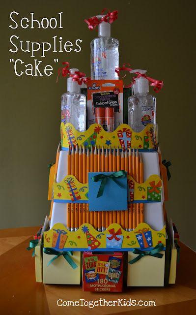 "✥ School Supplies ""Cake""."