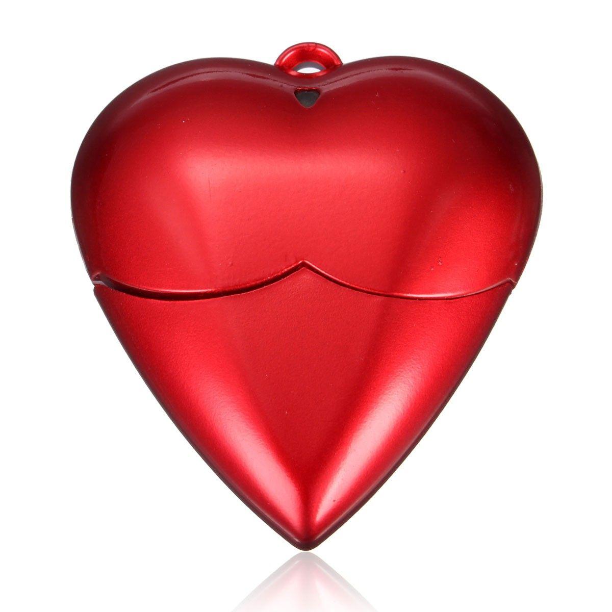 New Popular Red Love Heart Style Meco 2gb 4gb 8gb 16gb 32gb Usb