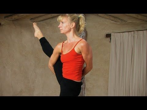 """http//wwwekhartyoga in this """"yoga sequence to"""