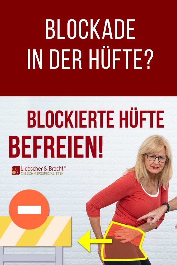 Photo of Blockade in der Hüfte? Sie können sie so schnell lösen