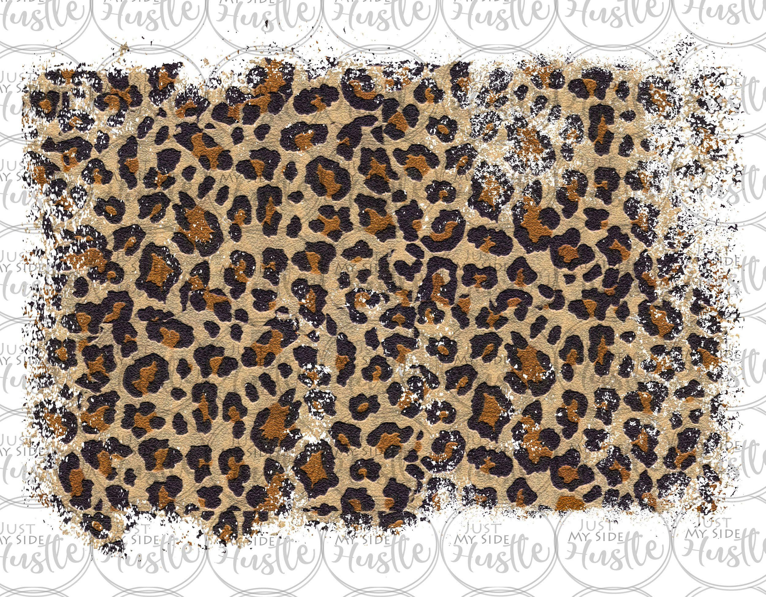 Distressed Leopard Sublimation Design Background Backsplash Png Graphic Clipart Digital Download In 2021 Sublime Digital Paper Clip Art