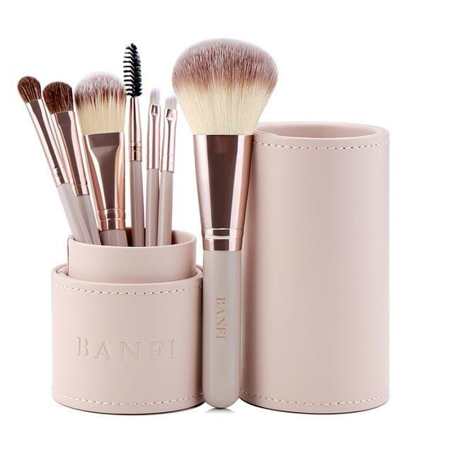 7PCs / Set Makeup Brushes Kit Beauty Make-up – 01