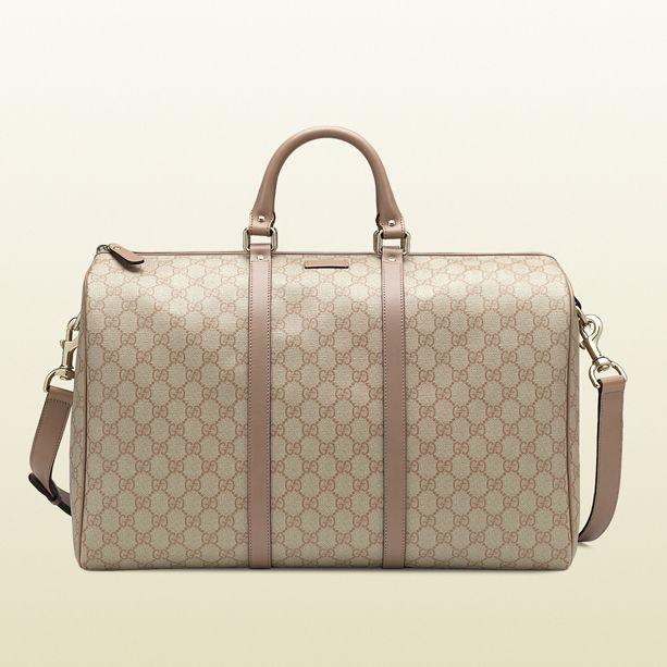 6e1029bed674 Gucci GG Supreme Canvas Carry-On Duffel Bag | Carry On! | Bags ...