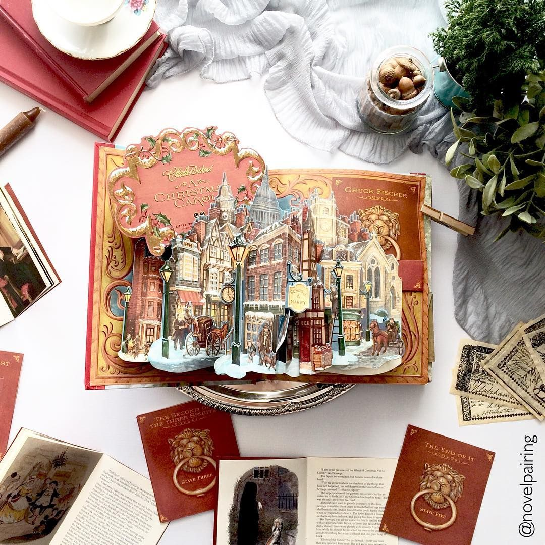 """Here is another countdown to Christmas post. This time I have the book """"A Christmas Carol"""" pop ..."""