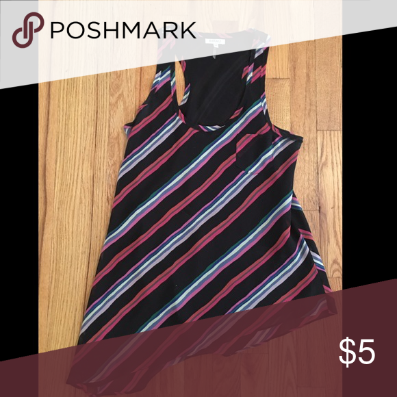 Blouse Fashionable diagonally striped shirt from Nordstrom Tops Blouses