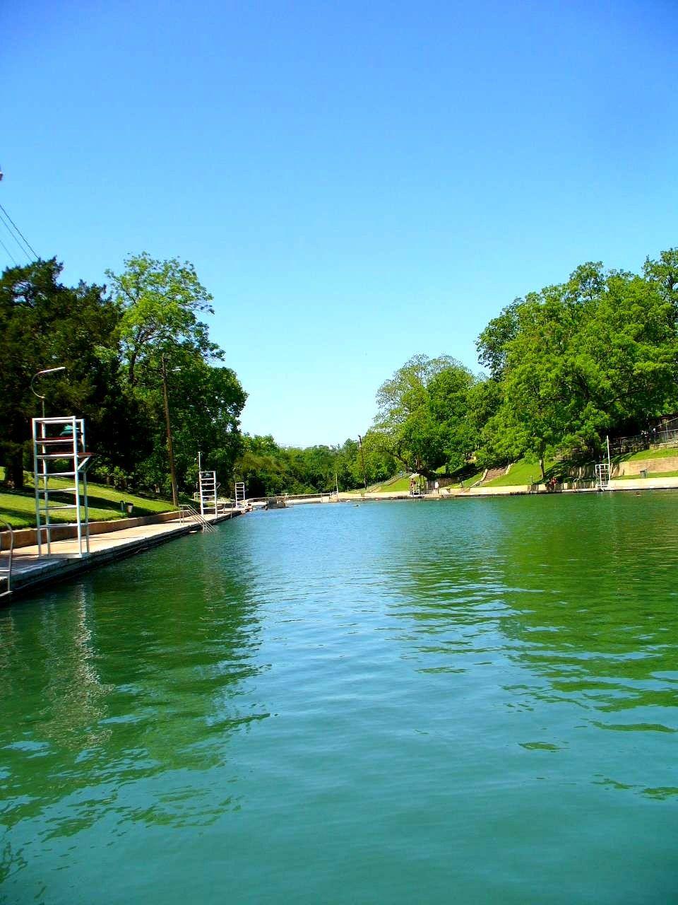 Austin in the summer barton springs barton springs