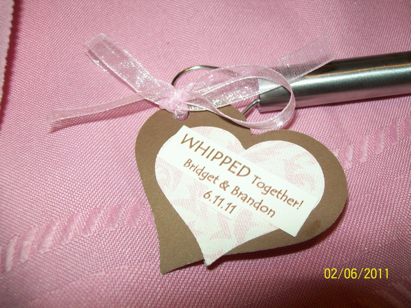 wedding favors for chefs | Scrapbook Pad Ink | Liz | Pinterest ...