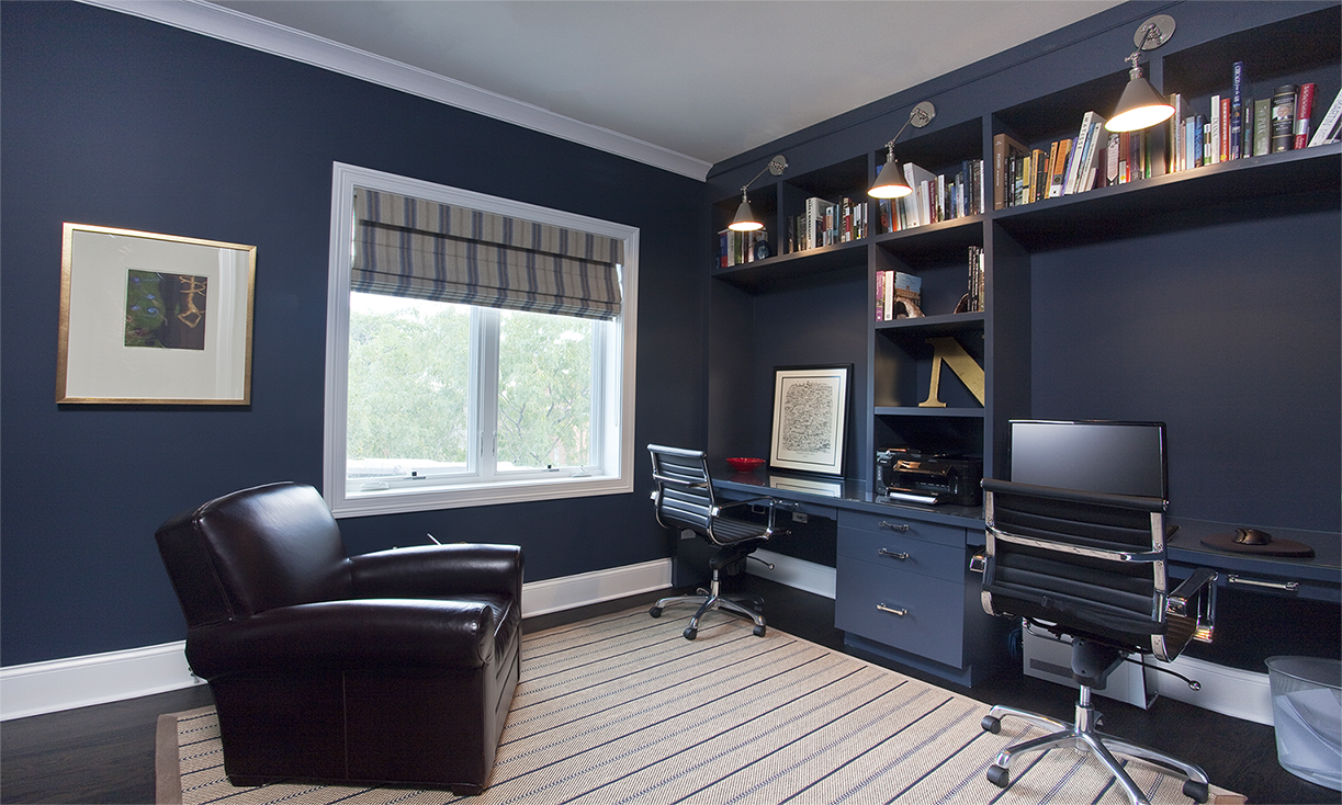 Marvelous Aldine Avenue   Contemporary   Home Office   Chicago   Michael Abrams  Limited