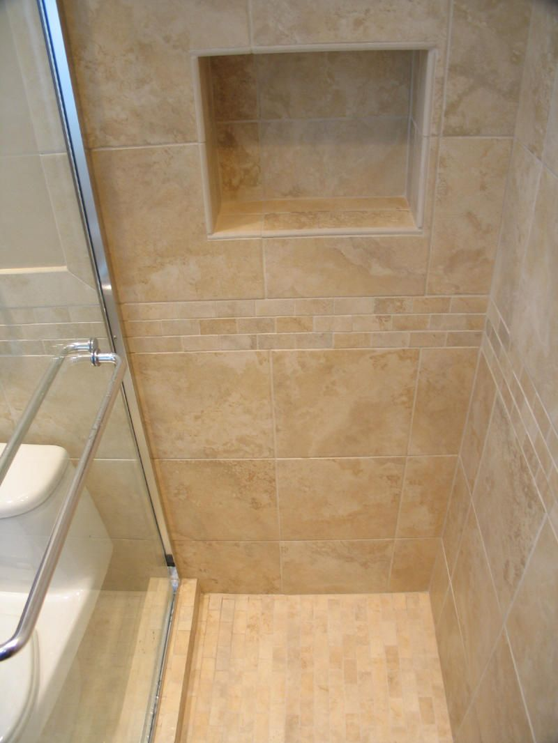 Simple bathroom shower - Splendid Image Of Bathroom Decoration Using Stand Up Shower Ideas Simple And Neat Picture Of
