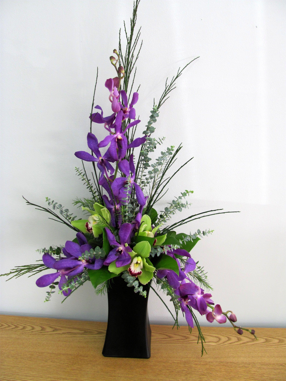 Orchid Arrangement www.carolynsfloraldesigns.com | Fresh flowers ...
