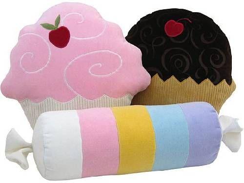 fotos de almohadas helado con dibujos