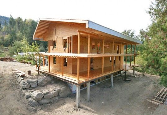 ladc unveils work on modern mountain passive house in nelson, bc