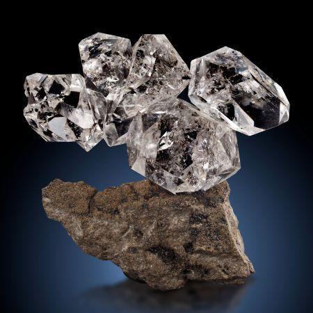 "QUARTZ ""HERKIMER DIAMOND"" Ace of Diamonds Mine ..."