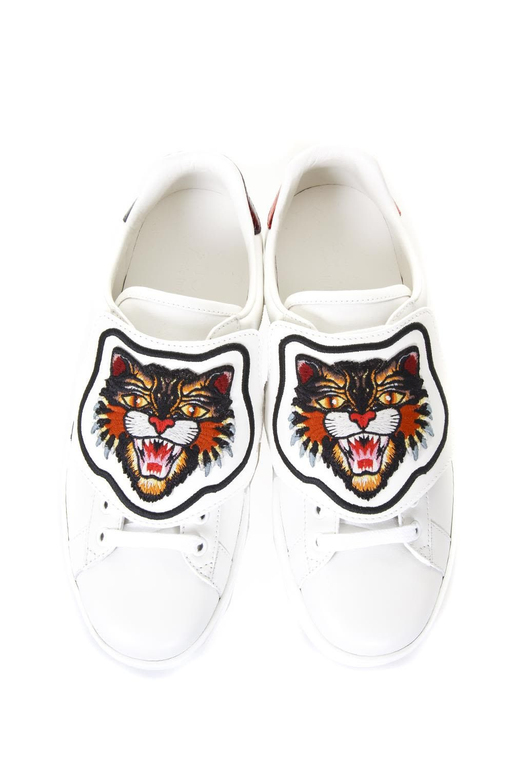 2107b758b GUCCI ACE SNEAKERS WITH REMOVABLE PATCH. #gucci #shoes # | Gucci Men ...