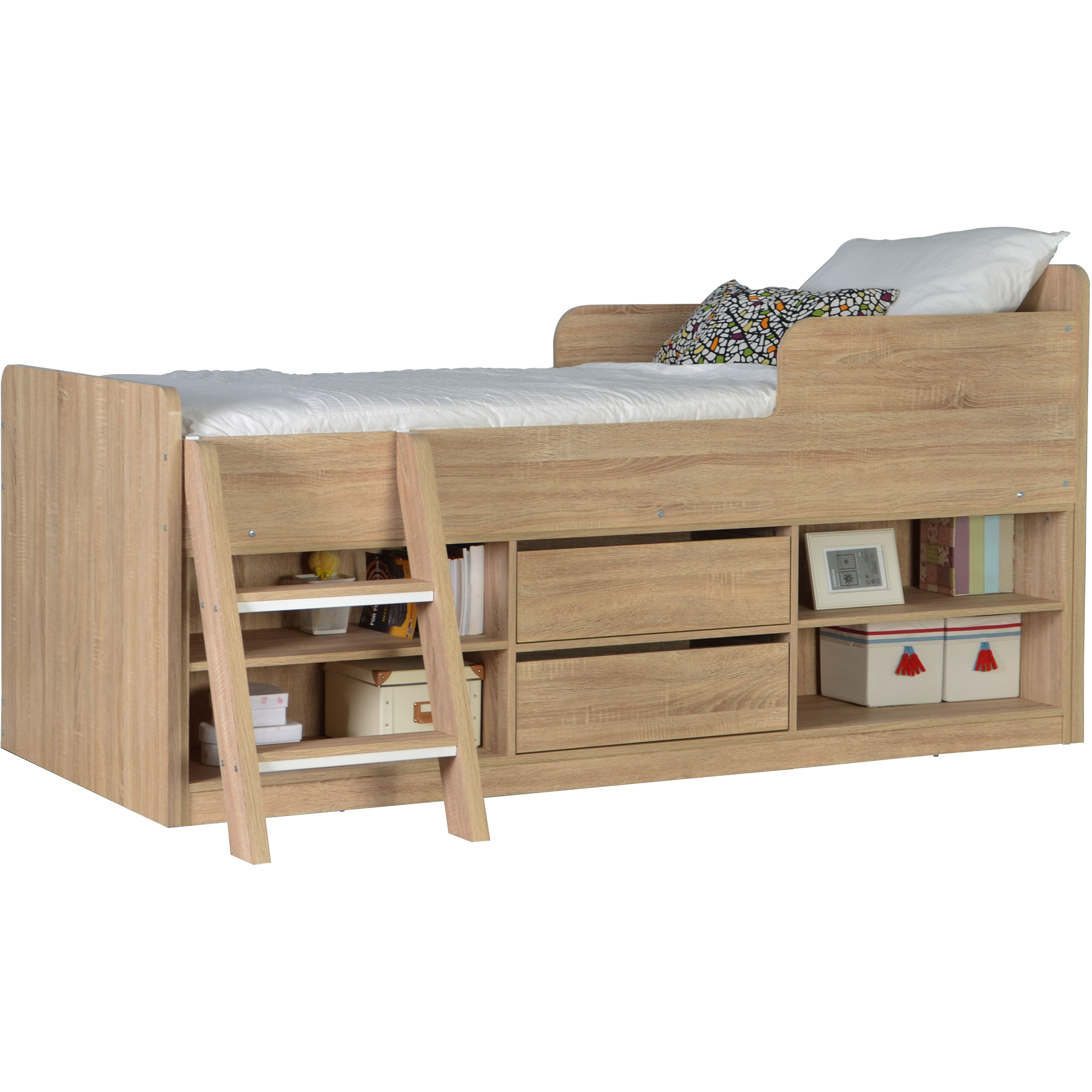 Home Loft Concept Felix Mid Sleeper Bed & Reviews | Wayfair.co.uk ...