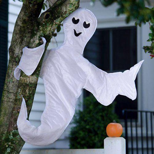 Peek a Boo Ghost Halloween Tree Wrap Decoration Halloween