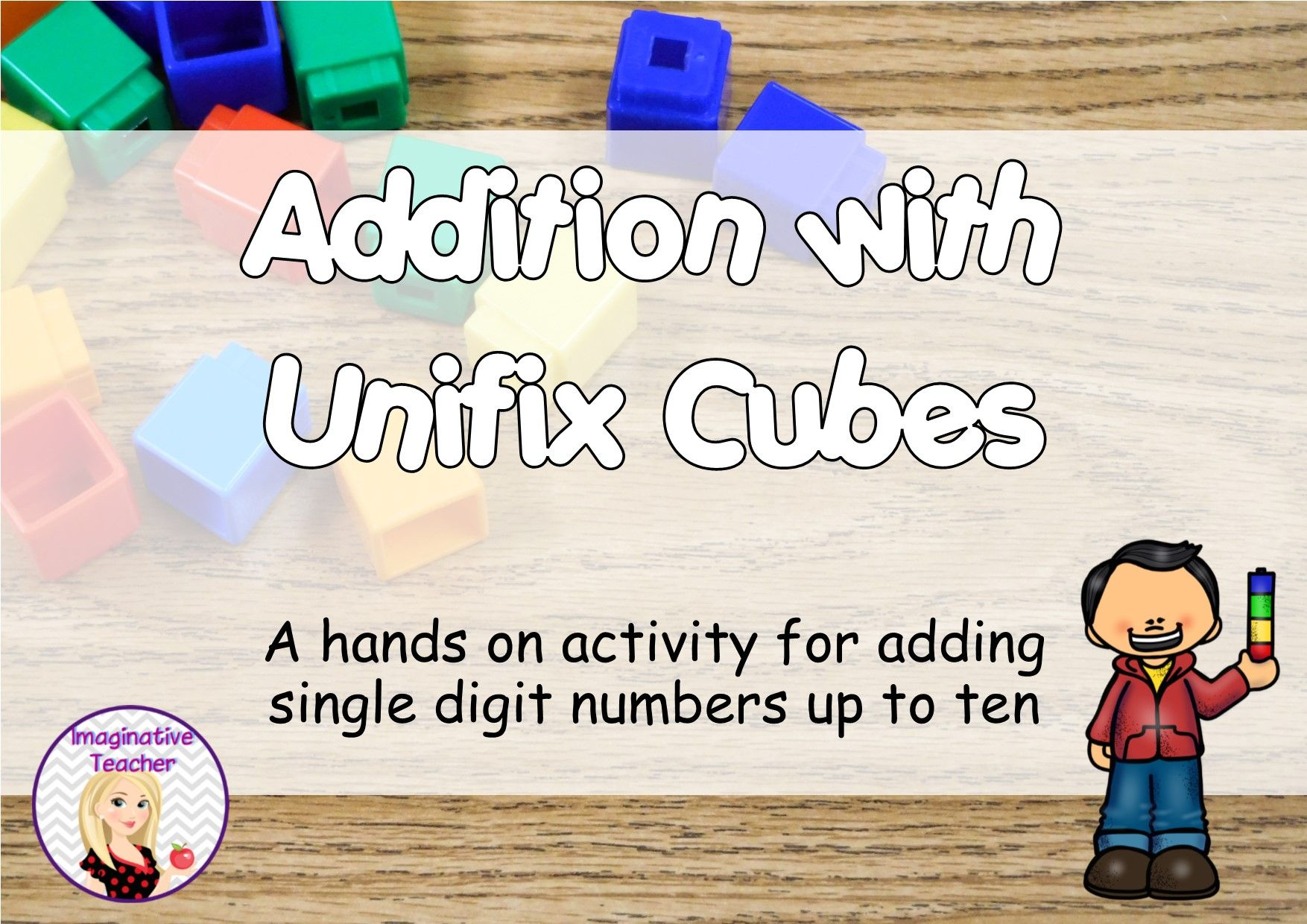 Free Addition With Unifix Cubes Stem Activity