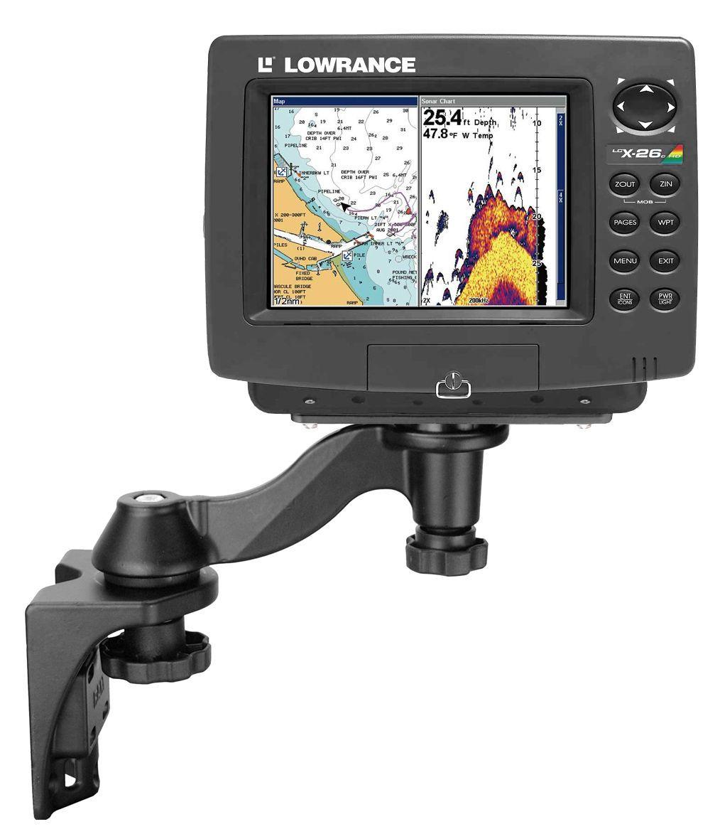 Lowrance Fish Finder Mounts | Gps mounts, Waterproof phone ...