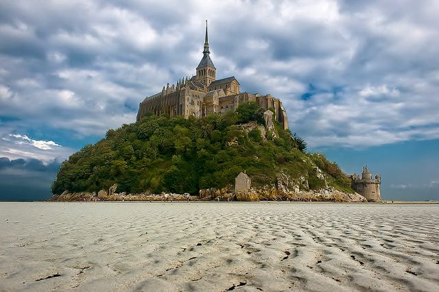 Wanderplaces: Mont Saint Michel, Normandy/ France.