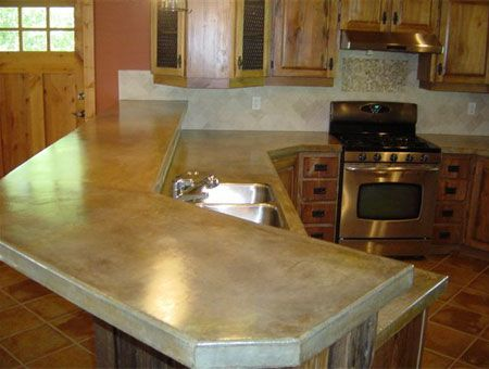 Attractive Concrete Countertops | Rock Solid Creations, Concrete Countertops