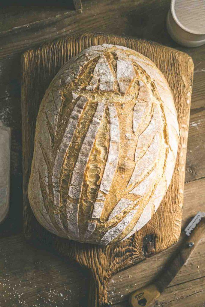 Südtiroler Weißbrot - einfaches Brotrezept - Mann backt