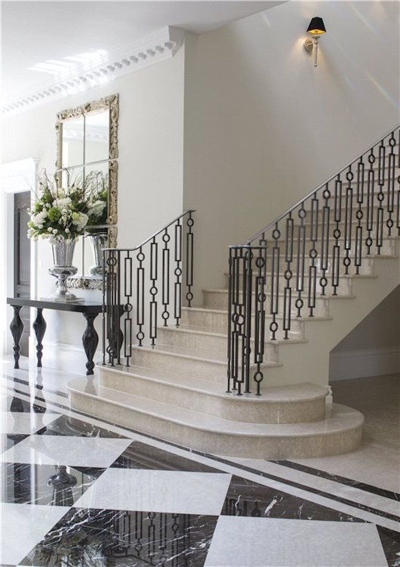 Neo Palladian Mansion 16 750 000 Contemporary Stairs