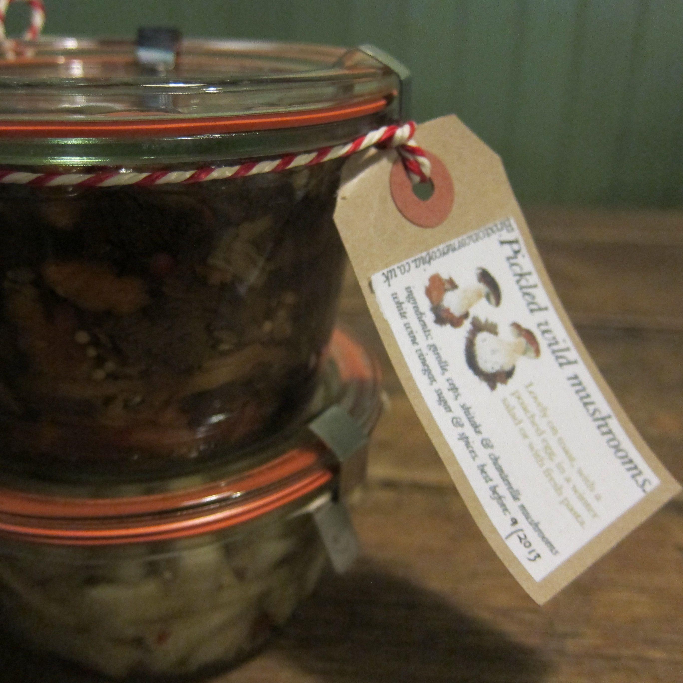 Pickled wild mushrooms & pickleld fennel