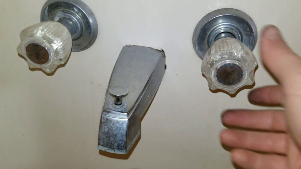 Diy Bathtub Faucet Repair Youtube Faucet Repair Diy Bathtub