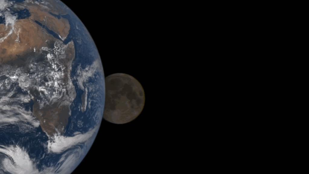 Million mile camera' views eclipse   Skyviews   High clouds