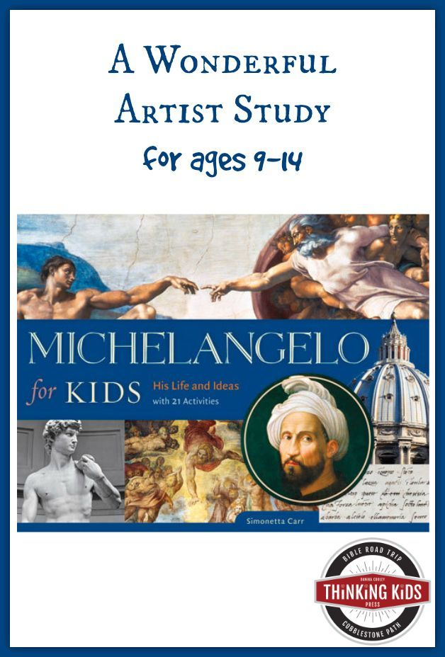 Michelangelo for Kids by Simonetta Carr | STEAM LESSONS FOR