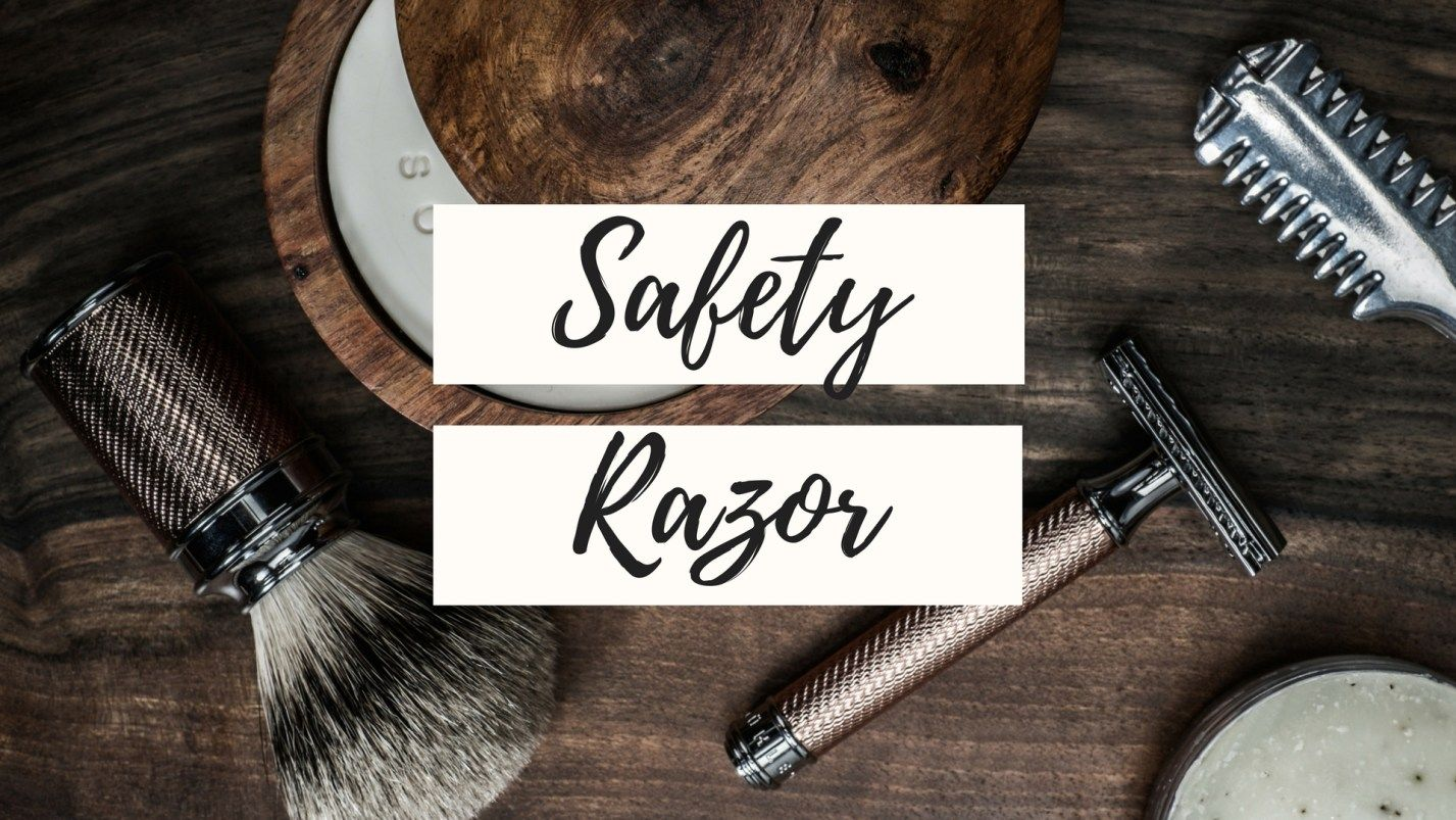 how to use a safety razor on armpit