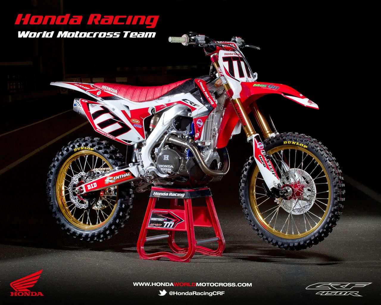 Honda Crf 450r World Motocross Team 2013 Dirtbikes Pinterest