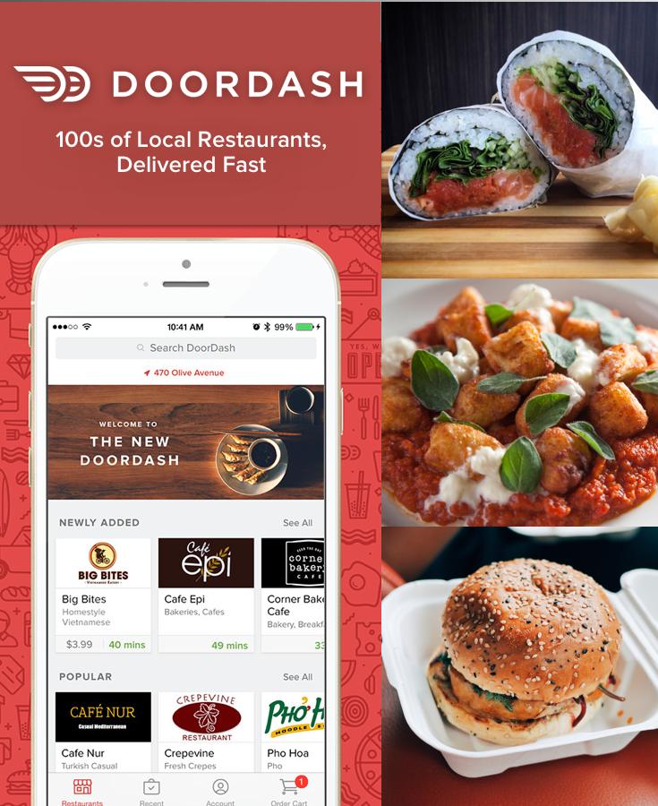 Restaurants Now Deliver