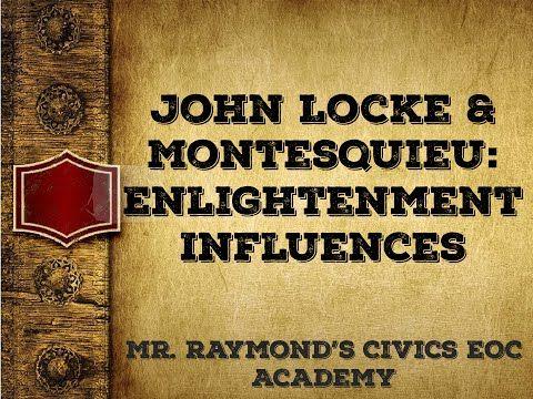 29 John Locke And Baron De Montesquieu Influencing The Founding Fathers Youtube John Locke Founding Fathers Influence