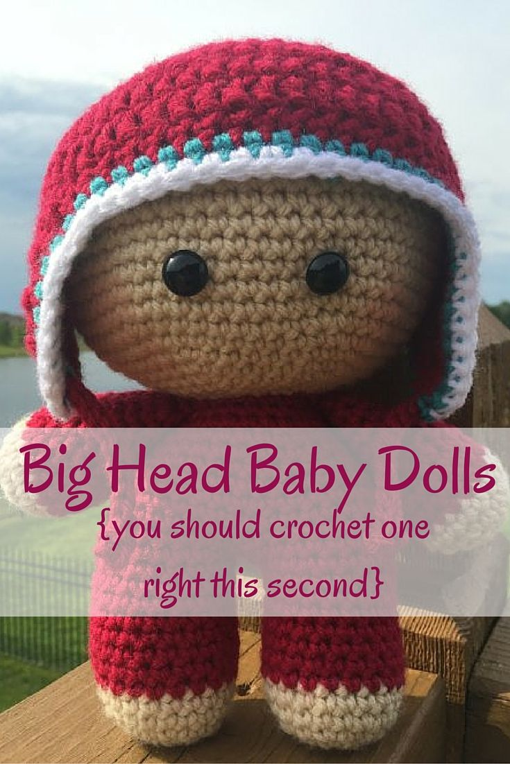 What is a big head baby doll and why you should crochet one have you seen the big head baby doll craze in the online crochet community these bankloansurffo Choice Image