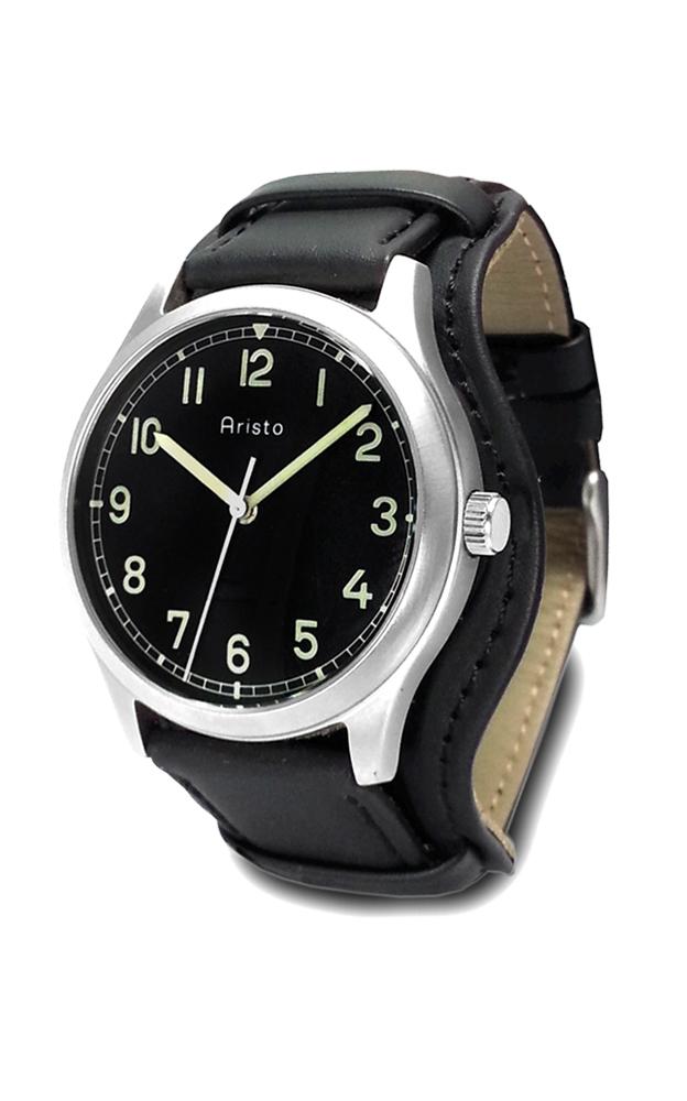 Aristo Rlm Uhr Handaufzug Hochwertige Uhren Fur Jeden Anlass Uhr Lederband Leder