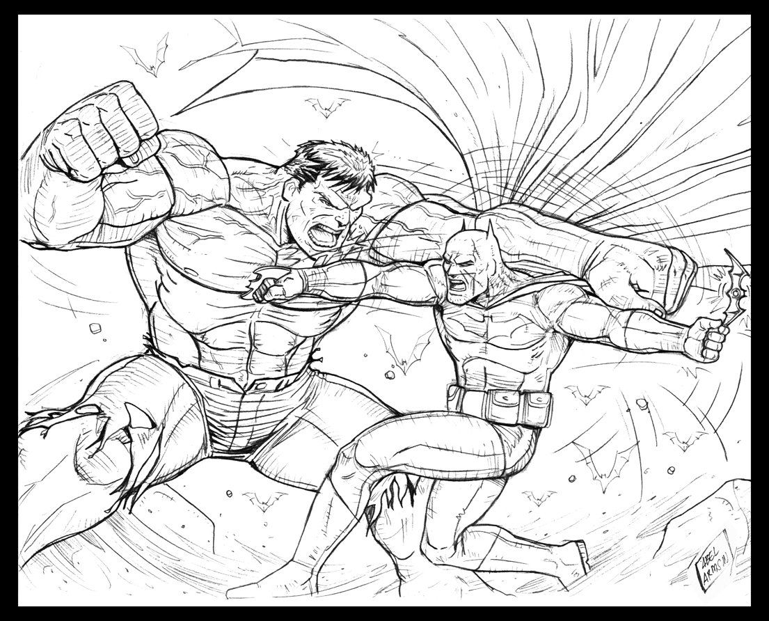 Superman Vs Hulk Coloring Coloring Pages Allow Kids To Accompany Their Favorite Character Superman Coloring Pages Hulk Coloring Pages Cartoon Coloring Pages