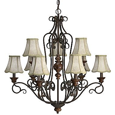 Legacy 9 Light Chandelier Jcpenney For Formal Dining