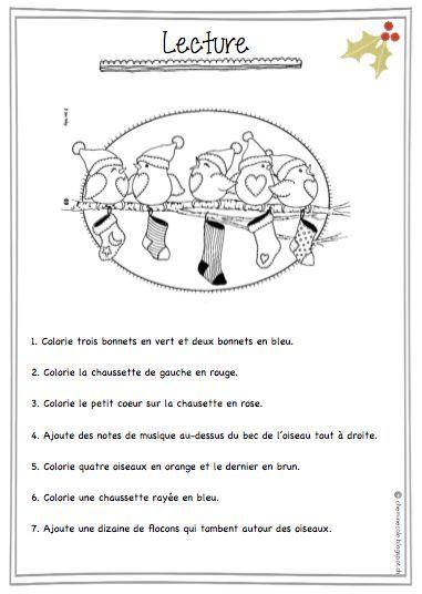 Un petit dossier de Noël pour occuper vos élèves quand il