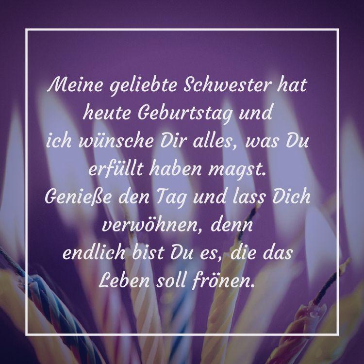 Gluckwunsche Zum Geburtstag Der Schwester Lustige Schwester Geschwister Lustig Schwester Spruche Lustige Zitate