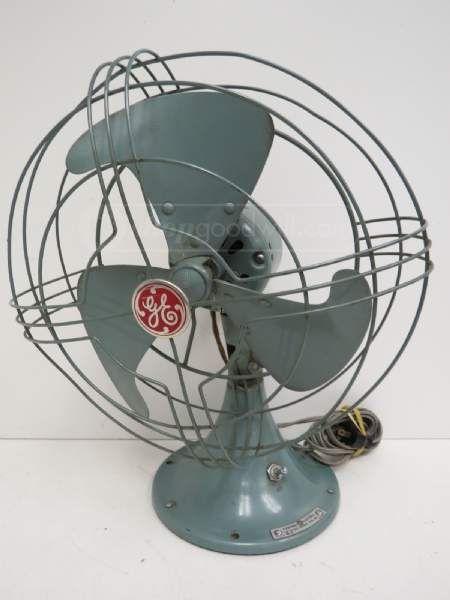 General Electric Ge No 84 Metal Fan