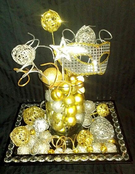 DIY New Years Eve decor 2014 decorations Christmas ...
