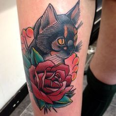 traditional cat tattoo - Google Search