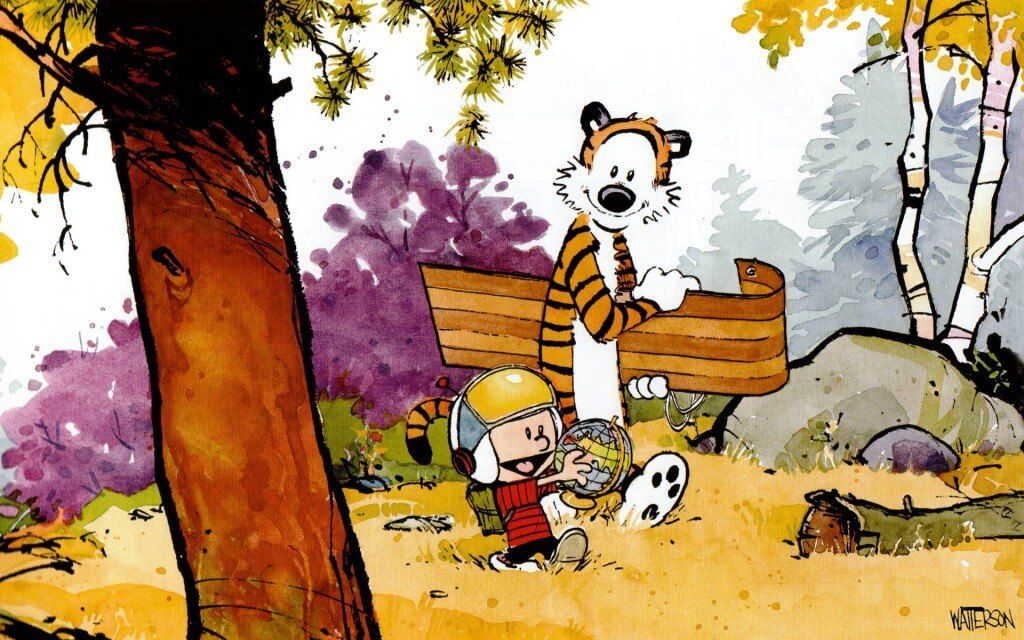 29 Calvin And Hobbes Wallpaper Comics That Were Everything In The