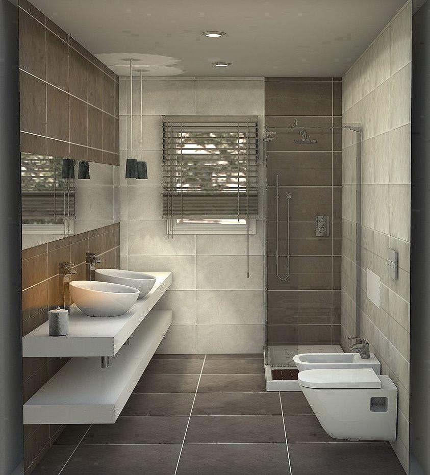 distribucion | decoración | Cuarto de baño, Baños modernos y ...