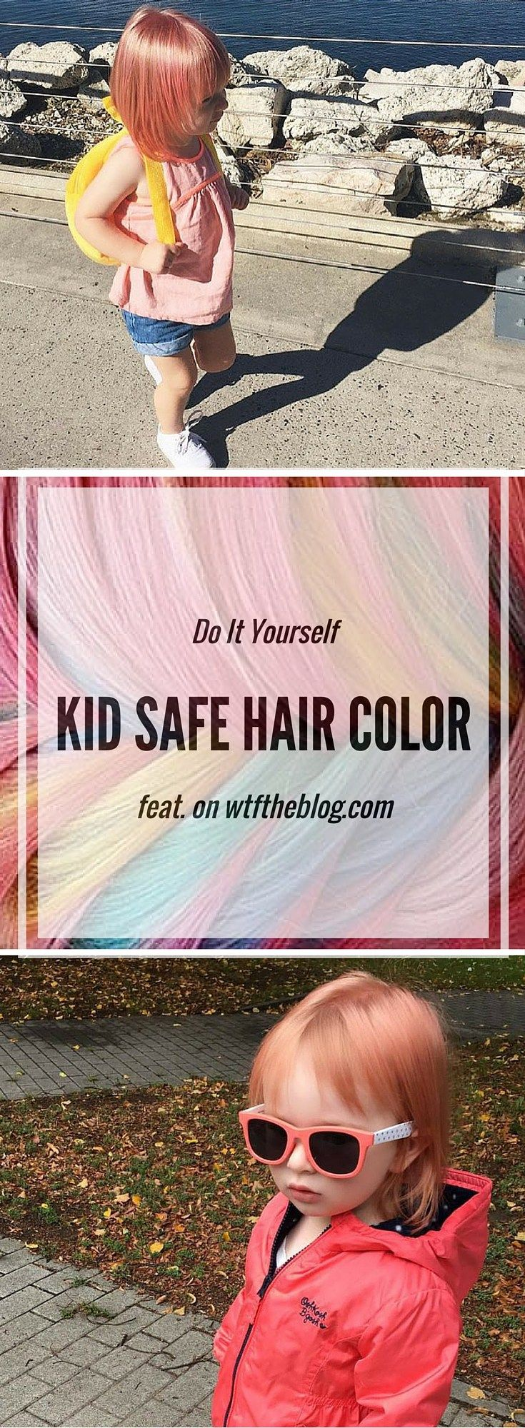 DIY Kid Safe Hair Color