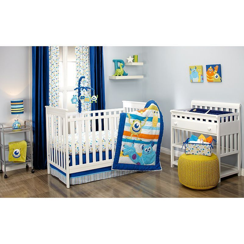 Monsters At Play 4 Pc Crib Bedding