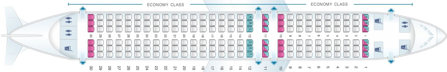Seat Map And Seating Chart Airbus A320neo Scandinavian Airlines Sas Sas Airlines Fleet Airbus